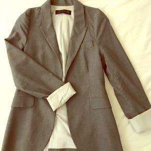 Zara woman grey blazer